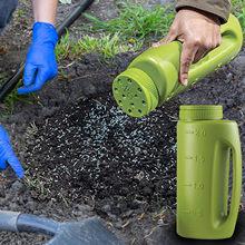 Jednokolorowe ręczne rozsiewacze rozsiewacze nasion rozsiewacze lodu narzędzia ogrodnicze akcesoria butelka do nasion trawy jardin