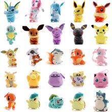 Покемон 10 см 15 плюшевая кукла игрушки Пикачу мягкие для детей