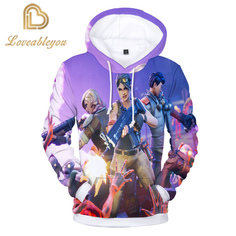2019 Gaming Heroes Hoodie Anime Unisex 3D Print Hooded Harajuku Streetwear Hoodies Childrens Hoodie Cosplay Men Sweatshirt