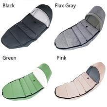Baby Carriage Winter Sleeping Bag Windproof Cover Bilateral Zipper For Bugaboo yoyo Stroller Warm Footmuff Stroller Accessories