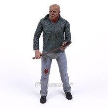 NECA figurine vendredi 13e partie 3 3D Jason Voorhees, jouet daction horreur à collectionner, modèle daction