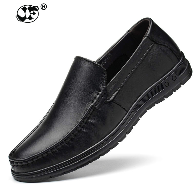 Zapatos casuales de cuero genuino para hombre Zapatos vintage hechos a mano con cordones de goma Natural inferior zapato de cuero hombre Tallas 458