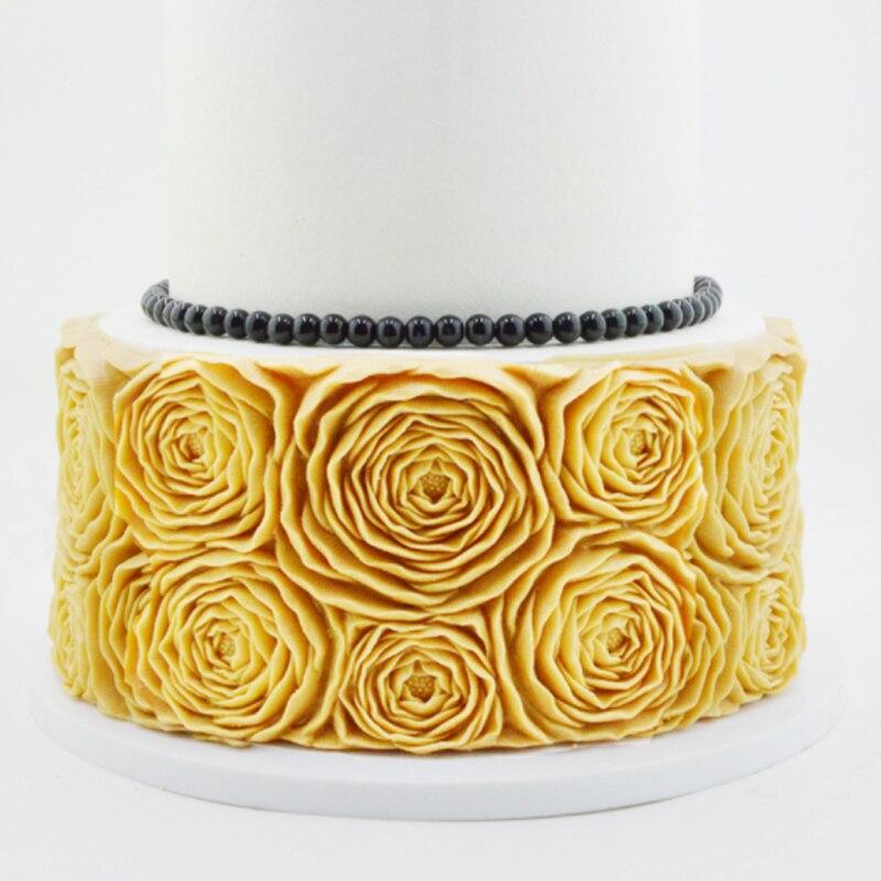 Rosette Silicone Mold Fondant Cake Decorating Tools Silicone Molds Sugarcrafts Chocolate Baking Tools  For Cakes Gumpaste Fimo|Cake Molds| |  - title=
