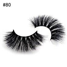SHIDISHANGPIN 2 Pairs 3D Mink Eyelashes Natural Long 3d Lashes 1 Box False Makeup Cilios Maquiagem