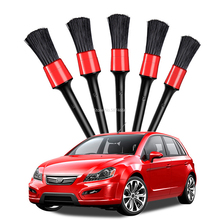 5 stücke Auto Detaillierung Pinsel Auto Reinigung Pinsel Universal Rad Dashboard Air Outlet Auto Detail Saubere Werkzeuge Auto Waschen Zubehör