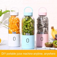 цена на portable blender usb mixer electric juicer machine smoothie blender mini food processor personal blender cup juice blender M