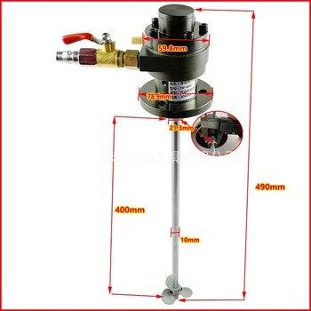 Máquina agitadora de 1 galón, máquina mezcladora de pintura, 1/16 HP, máquina para mezclar batir líquidos, mezcla industrial neumática, extractor de plásticos