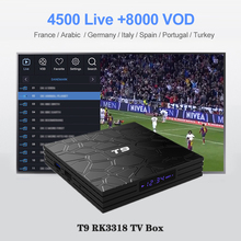 WeinTV SUBTV Subscription For Canada Arabic T9 Android 9.0 Smart IP TV