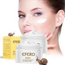 efero Snail Cream Peptide Anti Wrinkle Face Aging Whitening Acne Treatment Hyaluronic Acid for