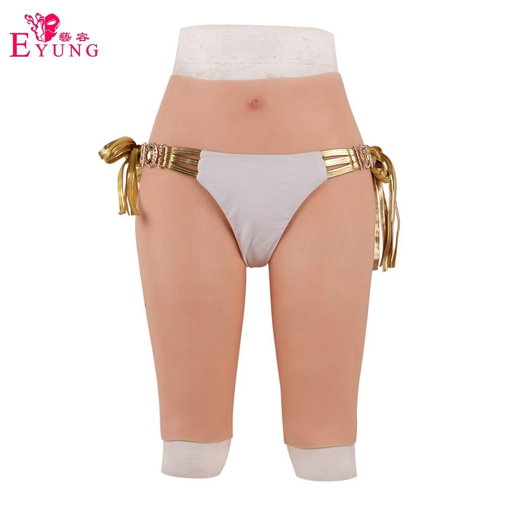 EYUNG fake vagina panty for crossdresser drag queen Hip Butt Lifter Push Up Enhancer fake pussy Real Vagina Underwear Pants