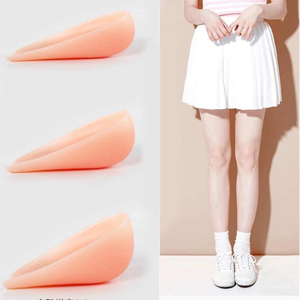 1 paar Silikon Höhe Erhöhen Einlegesohlen Ferse Kissen Sohlen Unsichtbare Socken Ferse Pads Männer Schuhe Männer/Frau Einlegesohlen Schuh pad