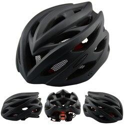 Odkryty rower sportowy lekki kask intergraly-formowany przedni reflektor do roweru kask rowerowy sport bezpieczeństwo MTB Bike kask sprzęt