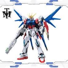 Anime Bandai RG 23 Gundam passe-temps 1/144 costume Mobile construire grève GAT-X105B modèle assemblage Robot figurine jouets pour les enfants