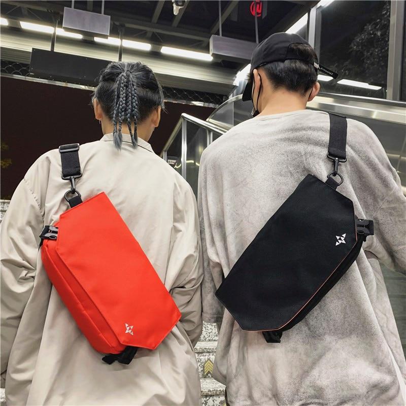 Unisex Waist Bag Men Lightest Tablets Bags Waterproof Messengers Bag Casual Shoulder Bags Women Waterproof Short Trip Chest Bag