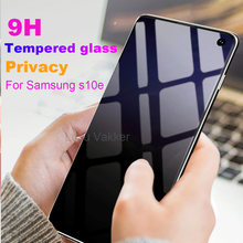 9D Full Cover privacy For SAMSUNG Galaxy S10e Anti Glare Tempered Glass For SAMSUNG S10 lite Anti peeping Screen Protector Film(China)
