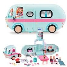 LOL-muñecas sorpresa originales 2 en 1, juguetes GLAMPER para niñas, lols OMG, juguetes para jugar a las casitas, regalos de cumpleaños para niñas