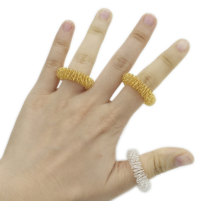 Toy Finger-Rings Autism Anti-Acupressure-Ring Sensory Anxiety Stress NEW And Relief-Massager img2