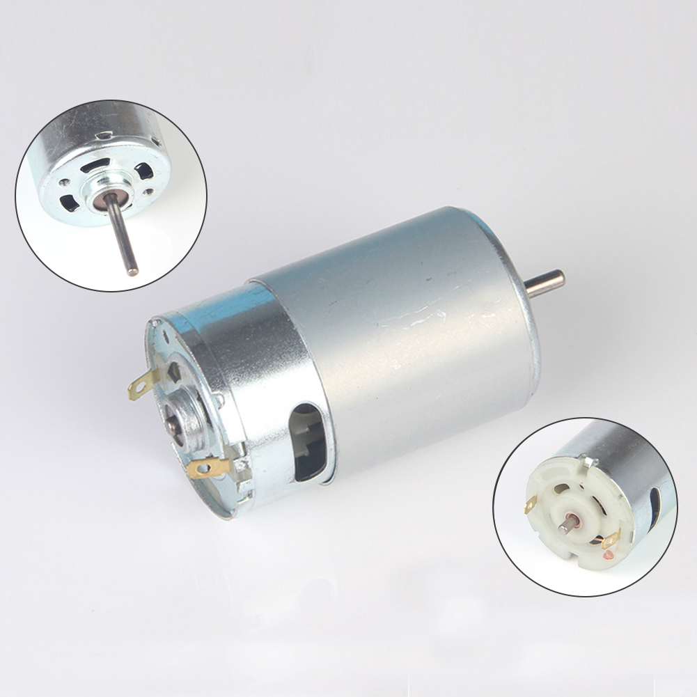 Durable RS-550 Motor DC 6V-24V High Speed DIY For RC Car Boat Model Accessories