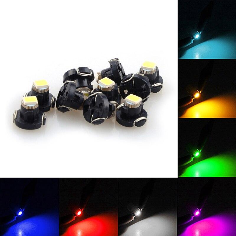 1 шт. T3/T4.2/T4.7 светильник лампа для приборной панели SMD Светодиодная Лампочка индикатор лампочка автомобильный предупреждающий индикатор Лам...