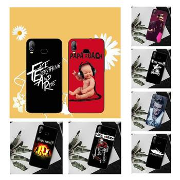 NBDRUICAI papa roach Jacoby Shaddix Bling ładny telefon etui do Samsung A10 A20 A30 A40 A50 A70 A71 A51 A6 A8 2018