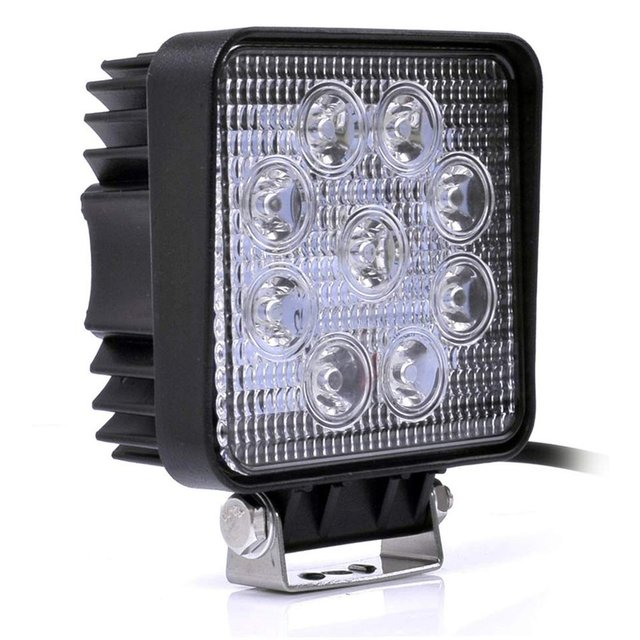 27/48W Engineering Light Thin Section Led Work Light Spotlight Searchlight Off-Road Light Engineering Light