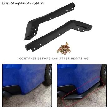 1Pair Rear Bumper Lip for 2015-2016 Subaru Impreza WRX Sti Rear spoiler  Angle Knife bburago машинка bburago subaru impreza wrx sti 1 43