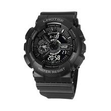 Gshock zegarek mężczyźni sport 50m wodoodporny hodinky kompas G styl Shock zegarki elektroniczny wojskowy biały mężczyzna relogios masculino tanie tanio FLORASUM 25 3cm QUARTZ Podwójny Wyświetlacz Cyfrowy 5Bar Klamra CN (pochodzenie) Z tworzywa sztucznego 18mm Akrylowe Kwarcowe Zegarki Na Rękę