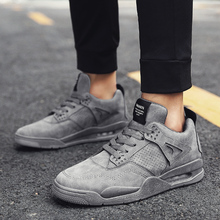 Leader Sho Men Sports Shoes Light Lace-up Outdoor Trend Snea