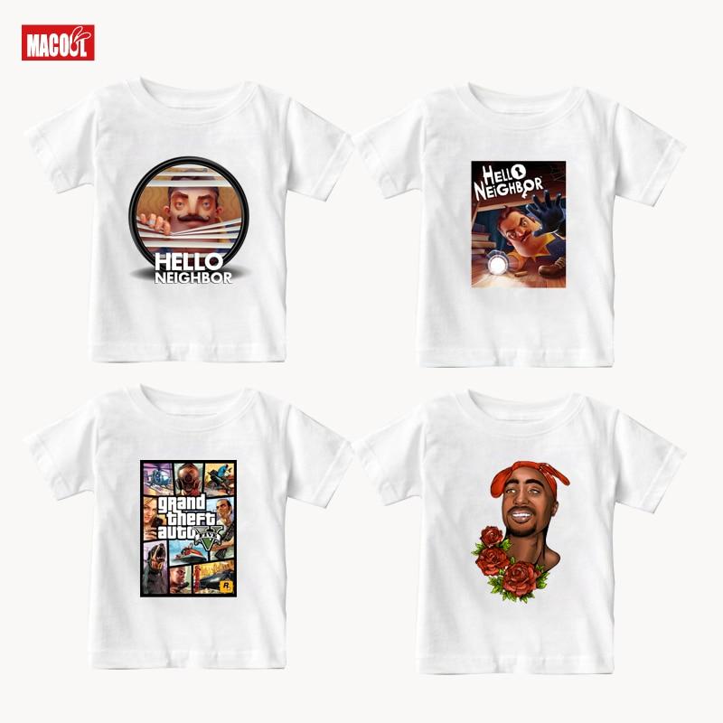 Boy Cool T Shirt 2020  Summer Kids White Cotton T-shirt for Girls Top Tees Cotton T Shirts for Summer Teens Tees 6 8 10 12 Year