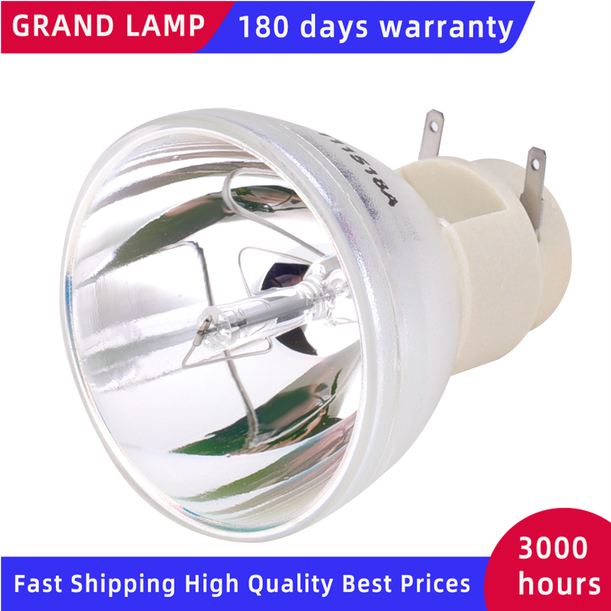 Ampoule de projecteur de remplacement SP-LAMP-086 pour INFOCUS IN112a / IN114a / IN116a / IN118HDa / IN118HDSTa Happybate