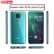 Huawei nova 5i pro case tpu mate 30 lite cover soft silicon clear back protective phone coque transparent ultra thin