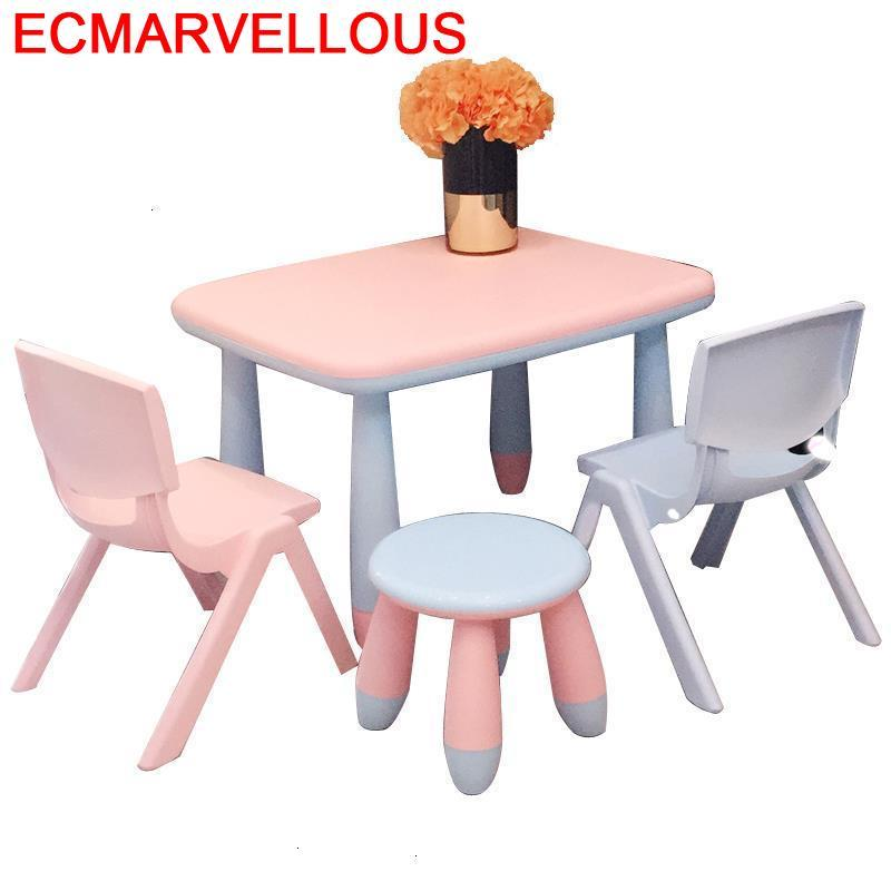 Desk For Kids Mesinha Y Silla De Estudio Child Avec Chaise Kindergarten Bureau Enfant Mesa Infantil Kinder Children Table