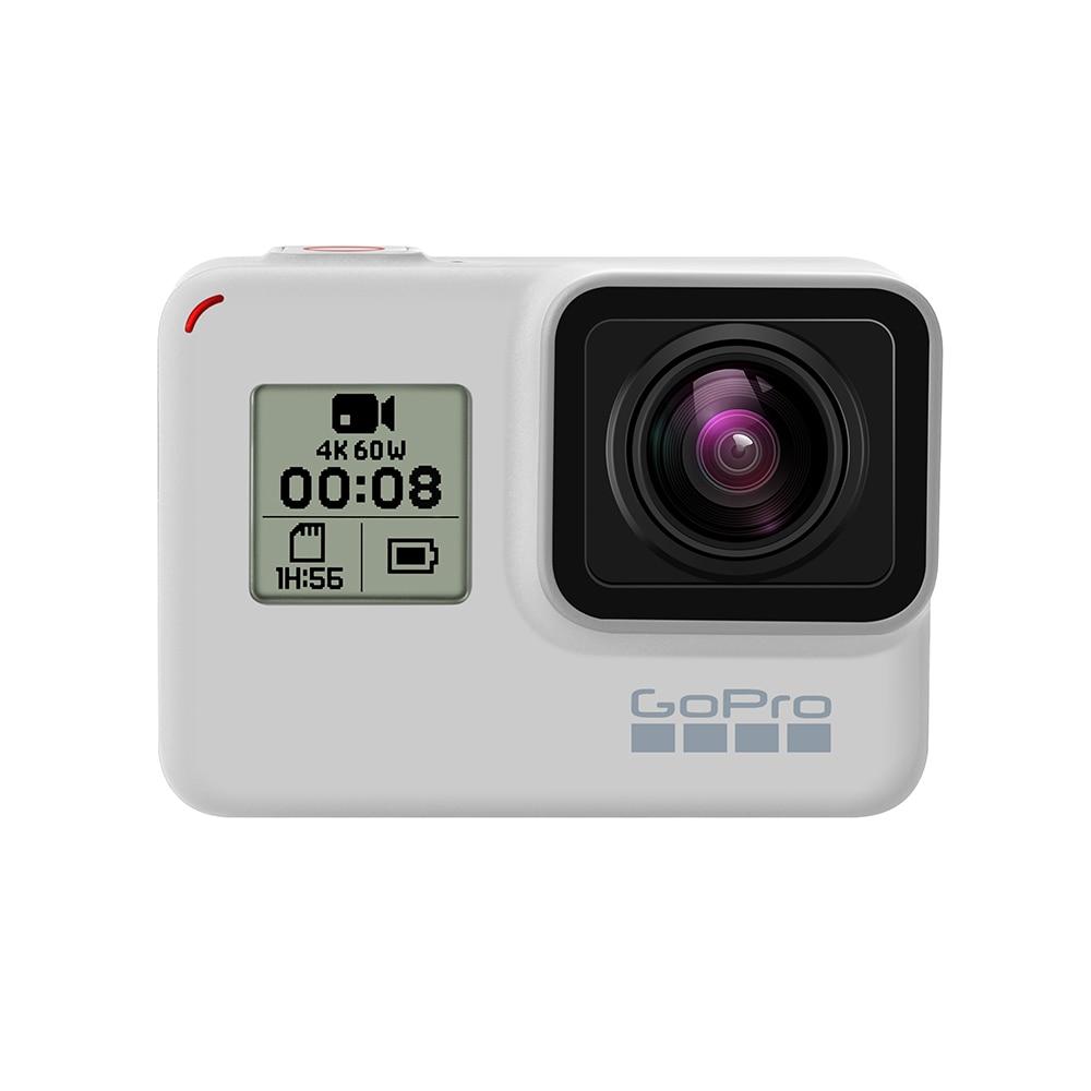 Original GoPro Hero 7 White (Limited Edition Dusk White) Action Camera Go Pro Hero7 Sport Cam 4K 60fps 12MP Photo Live Streaming 1
