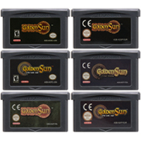 32 Bit Video Game Cartridge Console Card For Nintendo GBA Golden Sun The Lost Age