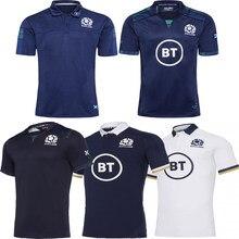 2020/2021 escócia rugby escocês casa longe polos camisa masculina esporte S-5XL