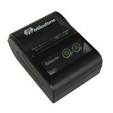 מיילסטון Bluetooth מדפסת אלחוטי קבלה ביל מדפסת תרמית 58MM מיני נייד כיס עבור Windows אנדרואיד IOS MHT P10