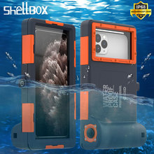 Professionnel Plongée Téléphone étui pour iPhone 11 Pro Max X XR XS Max 15M Profondeur Imperméable À Leau pour iPhone 6 6S 7 8 Plus Coque