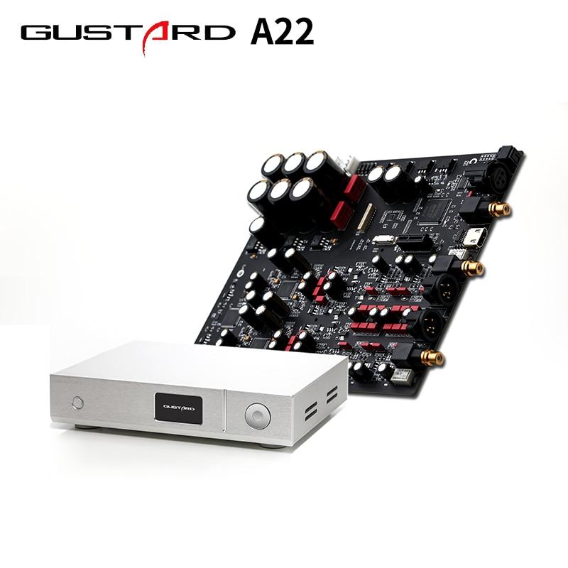 [Précommande] GUSTARD DAC-A22 DAC double Solution AK4499 XMOS décodeur équilibré natif