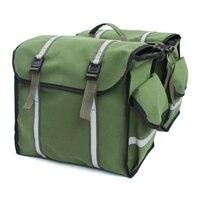 방수 캔버스 자전거 후면 가방 자동차 가방 산악 도로 자전거 수하물 가방