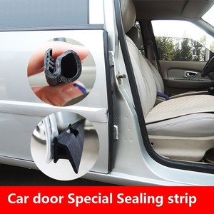 Image 5 - Combination Of Z, P, D Type Car Door Special Sealing Strip EPDM Rubber Soundproof And Dustproof Car  Protection Auto  Accessory