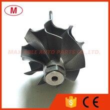 TD03 35.00/40.00mm 9 להבים טורבו טורבינה וגלגל/טורבינה/טורבינת פיר/עבור מגדש טורבו מחסנית/CHRA/Core