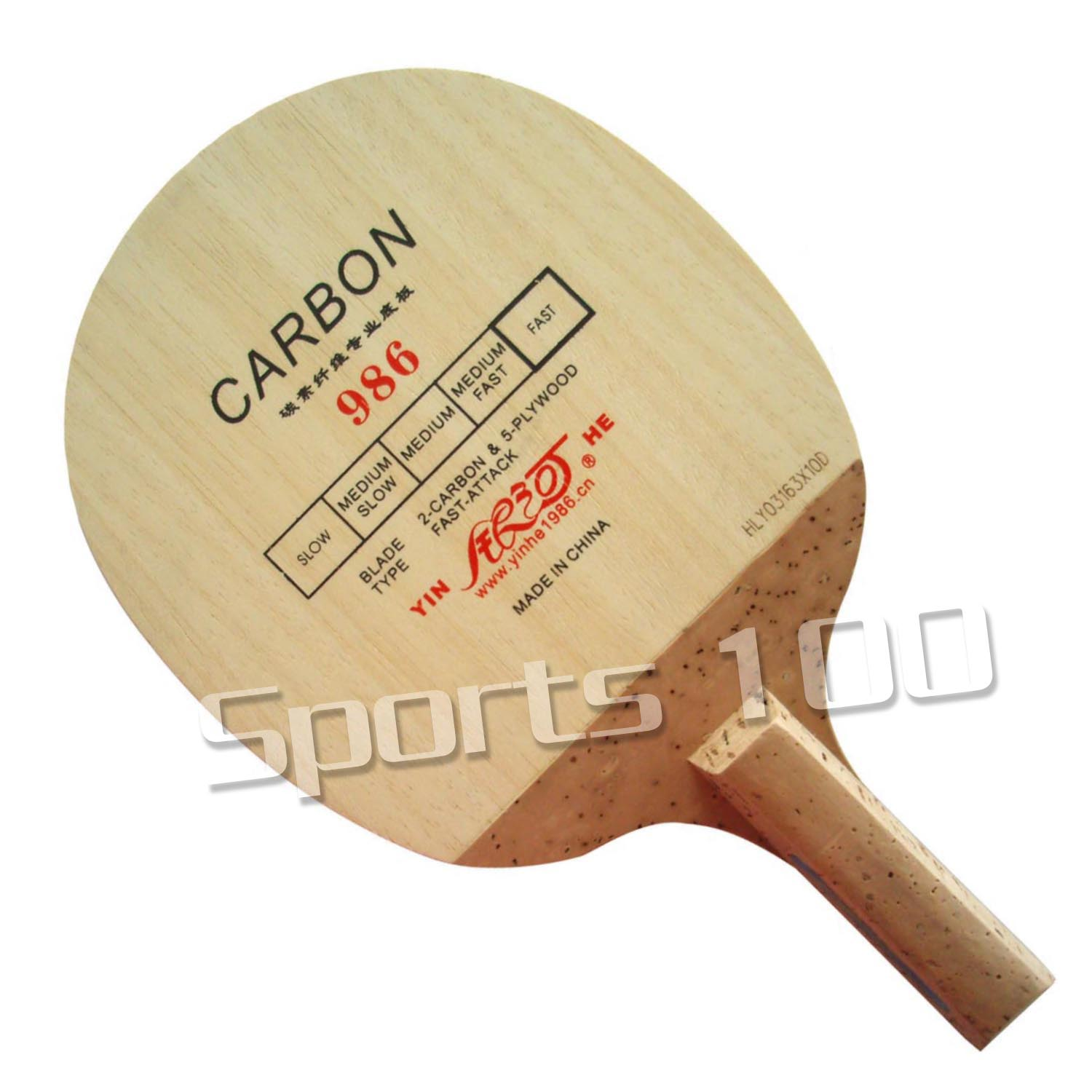 Yinhe Milky Way Galaxy 986 Japanese Penhold Table Tennis Blade 2015 The New Listing Factory Direct Selling