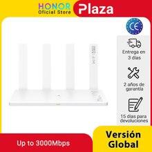 Version mondiale d'origine Huawei Honor routeur 3 Wifi 6 + 3000Mbps routeur sans fil routeur maison intelligente