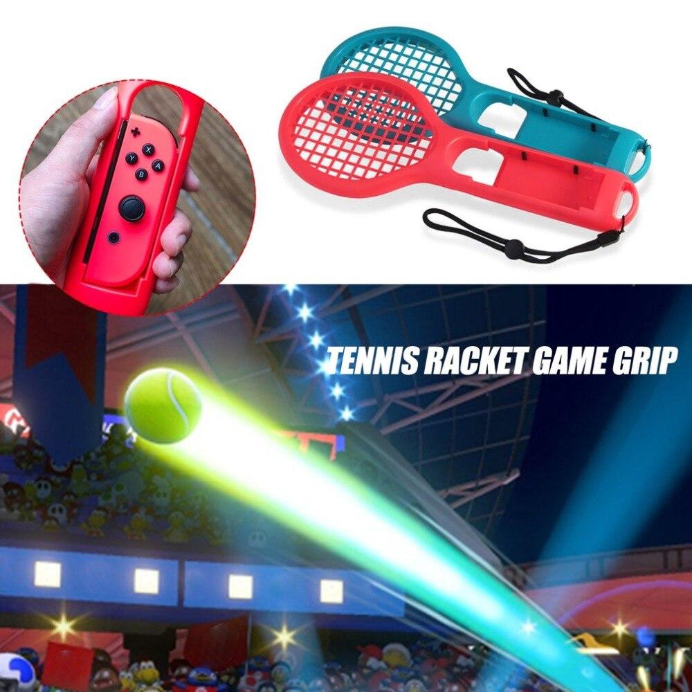 1 ACE Теннисный игровой Датчик ABS Теннисная ракетка ручка контроллера для nintendo Switch NS JOY-CON