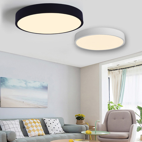 lampada led de teto moderna regulavel para