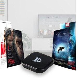 Image 1 - 2019 1080p جهاز استقبال للتليفزيون X7 أندرويد واي فاي محول HDMI لجوجل كروم كاست كروم الفقرة لميراسكرين يلقي على التلفزيون نيتفلكس يوتيوب ويريل
