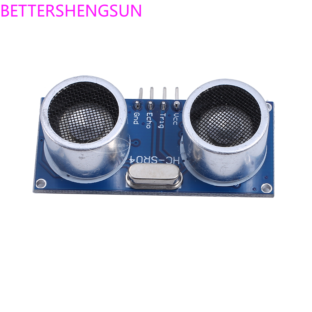 Free Shipping HC-SR04 Ultrasonic Ranging Module HC-SR04 Ultrasonic Sensor Support /51/STM32 Sensor