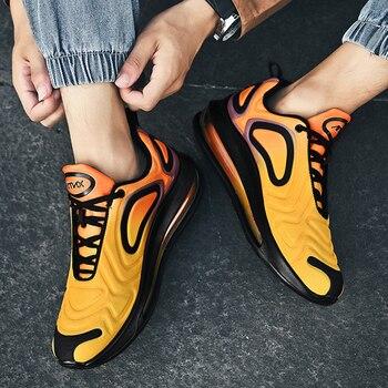 Men Shoes Summer air Cushion Color mixing Max 720 Men Sneakers Breathable Casual Shoes Men zapatos de hombre size 39-46 tenis baseus wireless presenter usb