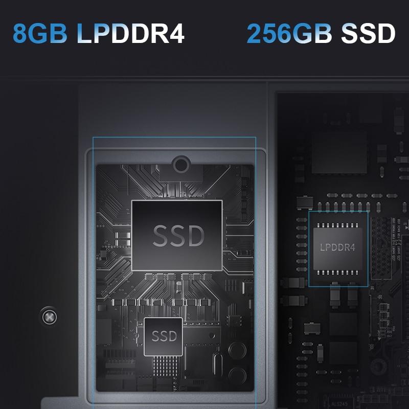 Computador portátil de bmax y13 360 ° 13.3 polegadas notebook windows 10 8gb lpddr4 256gb ssd 1920*1080 ips intel n4120 portáteis da tela de toque 4