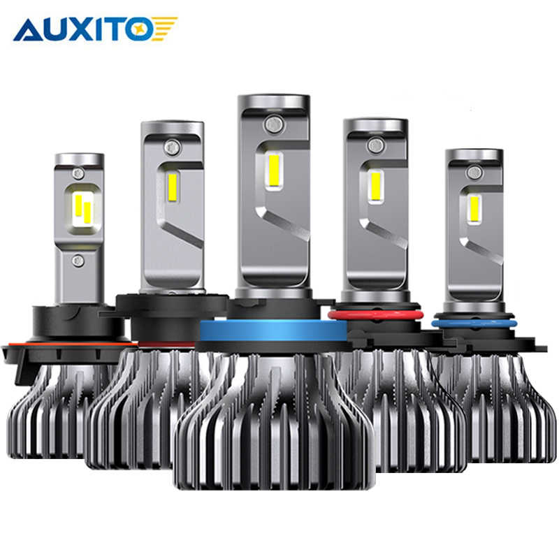 2PCS H7 LED HB5 9007 Fanless H4 H11 9005/HB3 9006/HB4 9000Lm Car led Headlight Bulbs Fog Lights White 6000K for BMW e46 e87 e36